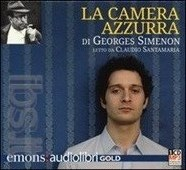 La camera azzurra letto da Claudio Santamaria. Audiolibro. CD Audio formato MP3. Ediz. integrale Emons Simenon Georges